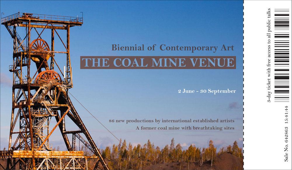 arm ticket coal mine