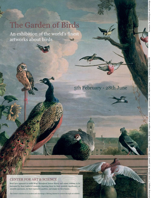 the garden of birds