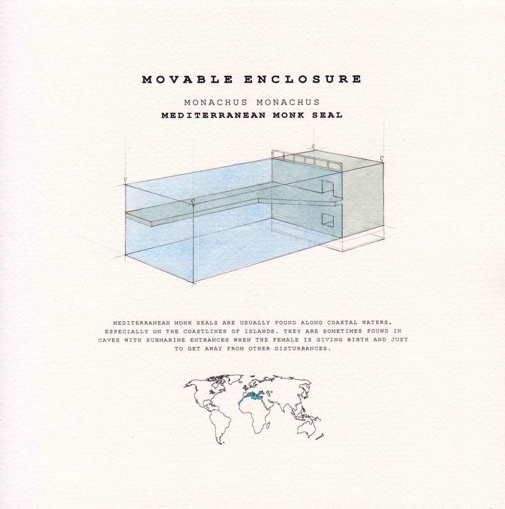 movable enclosure