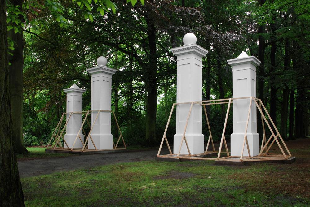 entrance kit for sculpture museum