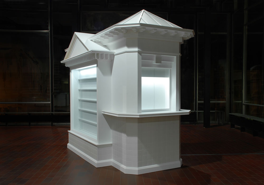 museum kiosk for camera services